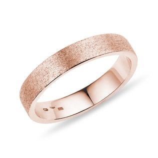 MEN'S WEDDING RING ROSE GOLD - RINGS FOR HIM - WEDDING RINGS