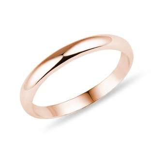 MEN'S ROSE GOLD RING - RINGS FOR HIM - WEDDING RINGS
