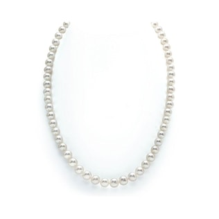 PEARL NECKLACE IN GOLD - PEARL NECKLACES - PEARL JEWELLERY