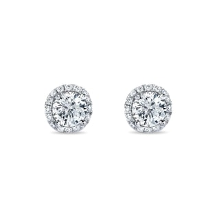 LUXURY DIAMOND EARRINGS - DIAMOND EARRINGS - EARRINGS