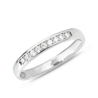 DIAMOND 14KT SOLID GOLD RING - RINGS FOR HER - WEDDING RINGS