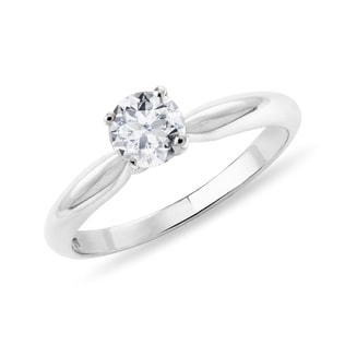DIAMOND 14KT GOLD ENGAGEMENT RING - SOLITAIRE ENGAGEMENT RINGS - ENGAGEMENT RINGS