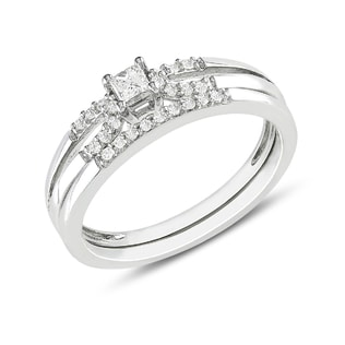 DIAMOND ENGAGEMENT AND WEDDING RINGS - ENGAGEMENT AND WEDDING MATCHING SETS - ENGAGEMENT RINGS