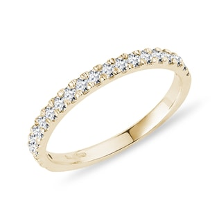 Diamond wedding ring