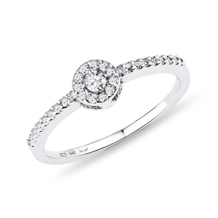 DIAMOND ENGAGEMENT RING IN 14KT GOLD - ENGAGEMENT DIAMOND RINGS - ENGAGEMENT RINGS