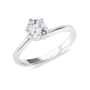 0.75CT DIAMOND ENGAGEMENT RING IN 14KT GOLD - SOLITAIRE ENGAGEMENT RINGS - ENGAGEMENT RINGS