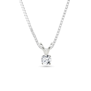 DIAMOND PENDANT IN 14KT GOLD - DIAMOND PENDANTS - PENDANTS