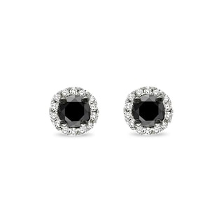 DIAMOND STUD EARRINGS IN 14KT GOLD - STUD EARRINGS - EARRINGS