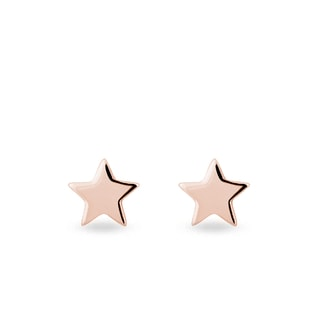 Earrings in the shape of a star