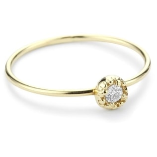 DIAMOND 14KT GOLD RING - DIAMOND RINGS - RINGS