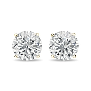 DIAMOND EARRINGS 1CT - STUD EARRINGS - EARRINGS