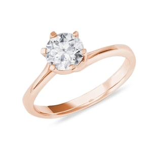 ENGAGEMENT RING WITH A DIAMOND - SOLITAIRE ENGAGEMENT RINGS - ENGAGEMENT RINGS