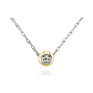 DIAMOND GOLD NECKLACE - DIAMOND PENDANTS - PENDANTS