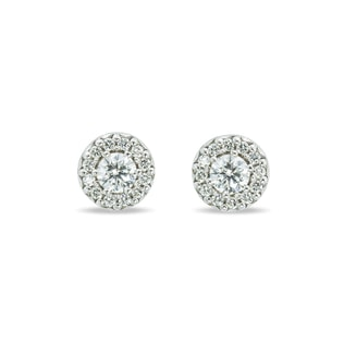 DIAMOND GOLD EARRINGS - DIAMOND EARRINGS - EARRINGS
