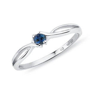 Sapphire ring in 14kt gold