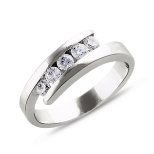 DIAMOND 14KT GOLD ENGAGEMENT RING - ENGAGEMENT DIAMOND RINGS - ENGAGEMENT RINGS