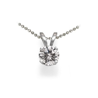 DIAMOND PENDANT 0.5KT IN 14KT GOLD - DIAMOND PENDANTS - PENDANTS