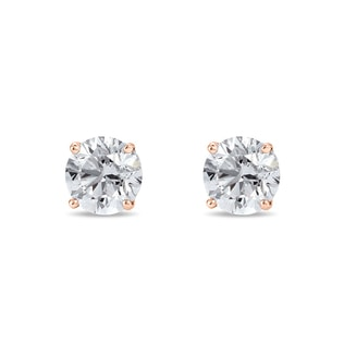 Boucles d'oreilles diamants 0,2 ct