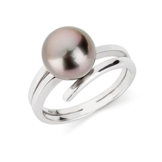TAHITIAN PEARL 14KT GOLD RING - PEARL RINGS - PEARL JEWELLERY