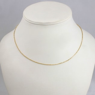 GOLD CHAIN - GOLD CURB CHAINS - PENDANTS