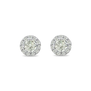 DIAMOND EARRINGS 0.25KT IN 14KT GOLD - DIAMOND EARRINGS - EARRINGS