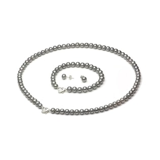 PEARL JEWELLERY SET - PEARL SETS - PEARL JEWELLERY