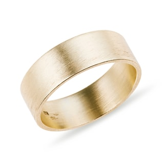 MEN'S GOLD WEDDING RING - RINGS FOR HIM - WEDDING RINGS