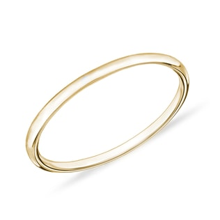 MINIMALIST GOLD RING - YELLOW GOLD RINGS - RINGS