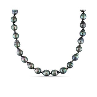 TAHITIAN PEARL NECKLACE IN 14KT GOLD - PEARL NECKLACES - PEARL JEWELRY