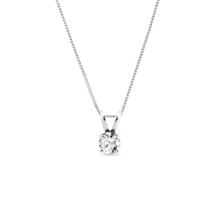 0.1KT DIAMOND PENDANT IN 14KT GOLD - DIAMOND PENDANTS - PENDANTS