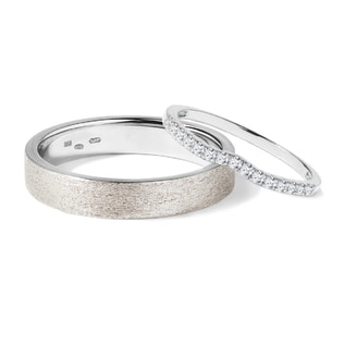 DIAMOND WEDDING RINGS IN 14KT GOLD - DIAMOND WEDDING RINGS - WEDDING RINGS