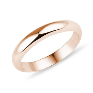 WEDDING RING IN ROSE GOLD - RINGS FOR HIM - WEDDING RINGS