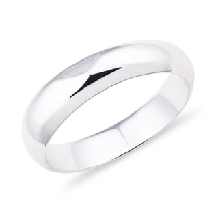 WEDDING RING IN WHITE GOLD - RINGS FOR HIM - WEDDING RINGS