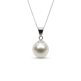 SOUTH PACIFIC PEARL PENDANT IN 14KT GOLD - PEARL PENDANTS - PEARL JEWELRY