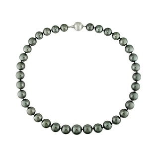 TAHITIAN PEARLS NECKLACE - PEARL NECKLACES - PEARL JEWELRY