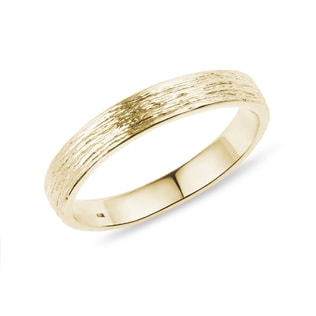GOLD WEDDING RING - RINGS FOR HER - WEDDING RINGS