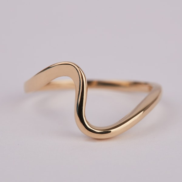 Yellow gold ring - Gold rings