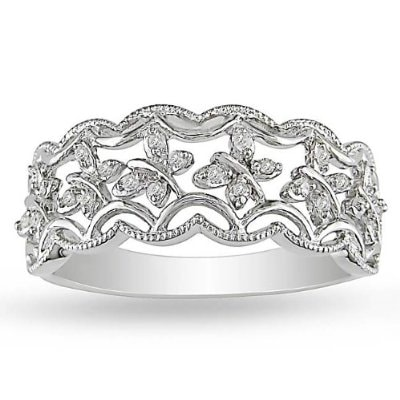 FASHION DIAMOND RING - DIAMOND RINGS - RINGS