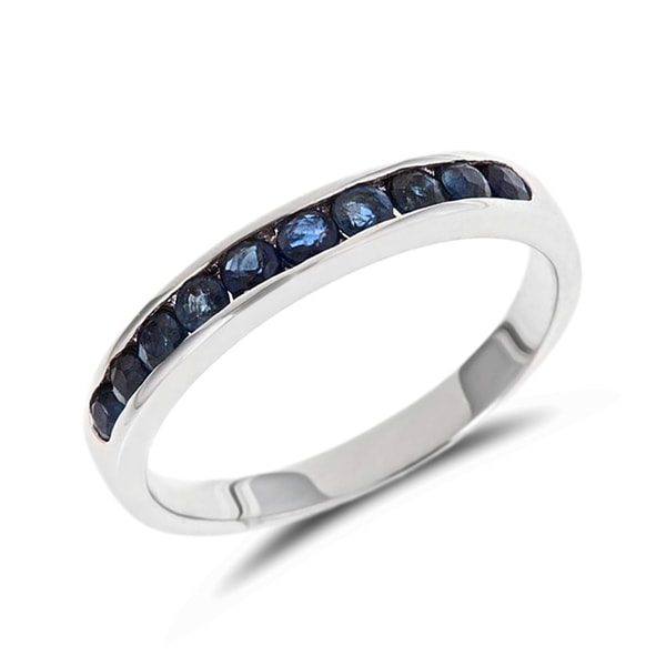 Sapphire wedding ring in 14kt gold - Sapphire Rings