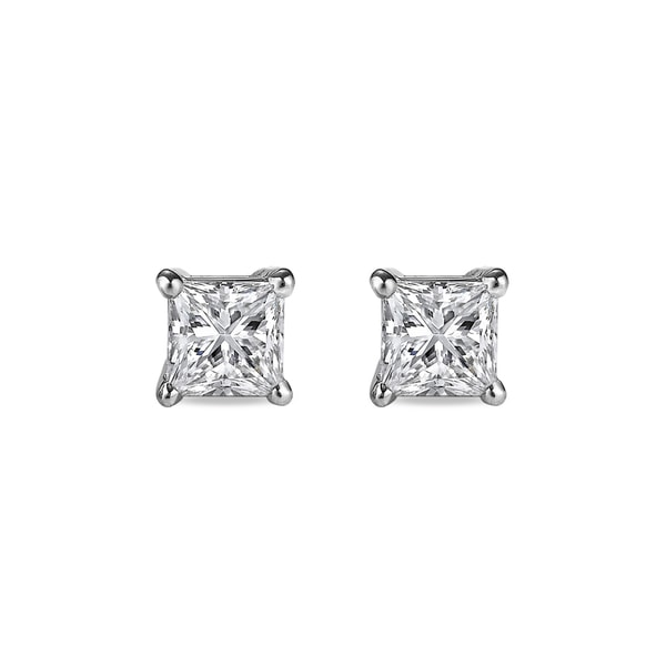 DIAMOND EARRINGS, 0.01CT, 14K GOLD - STUD EARRINGS - EARRINGS