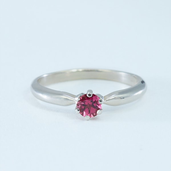 Ring with tourmaline - Tourmaline Rings