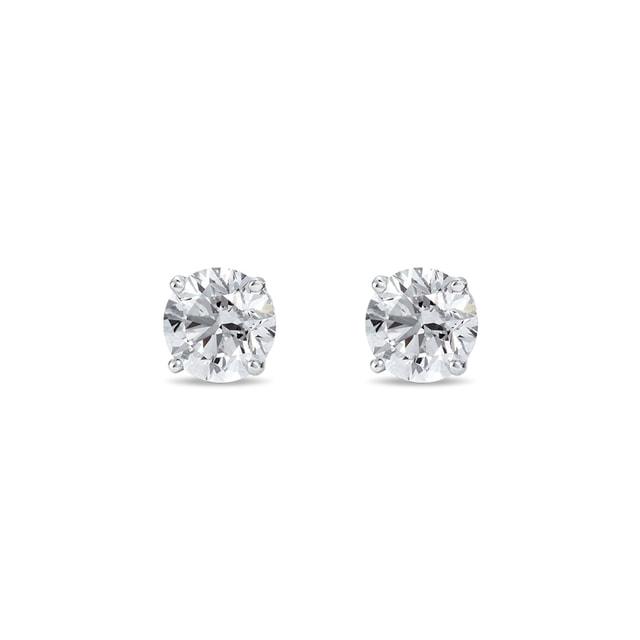 DIAMOND 14KT GOLD STUD EARRINGS - STUD EARRINGS - EARRINGS