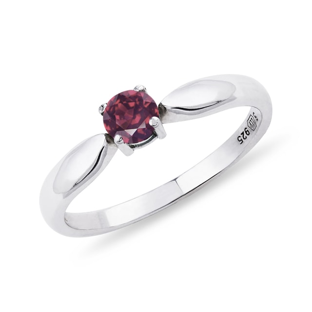 Tourmaline ring in silver