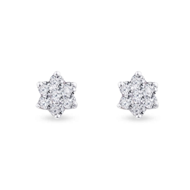 Luxury diamond earrings in 18kt gold