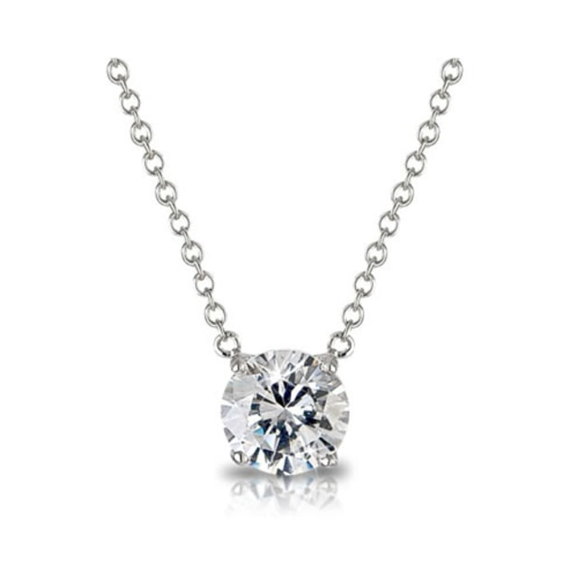 DIAMOND NECKLACE IN 14KT GOLD - DIAMOND PENDANTS - PENDANTS