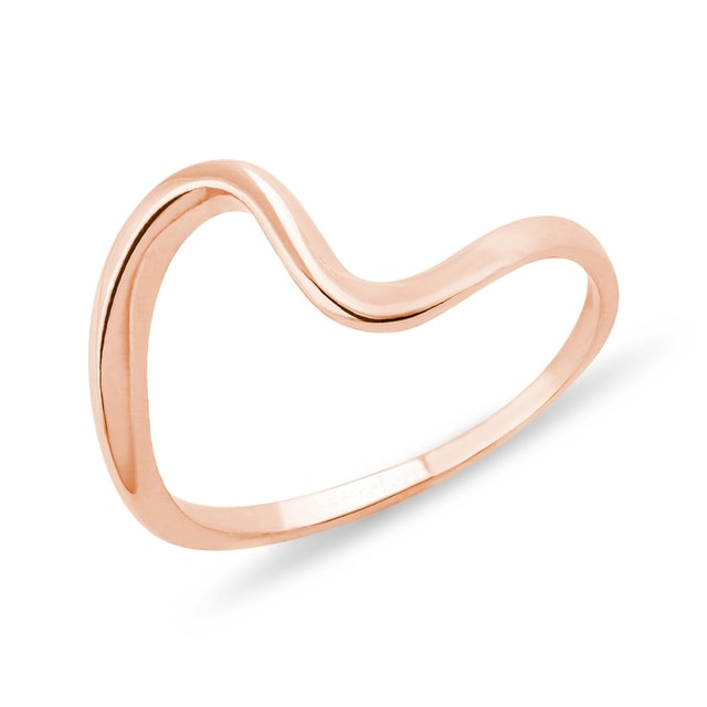 14KT ROSE GOLD RING - ROSE GOLD RINGS - RINGS
