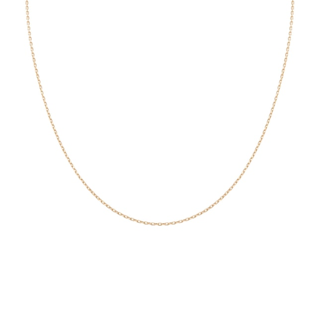 GOLDEN CHAIN 14 KT GOLD - GOLD CURB CHAINS - PENDANTS