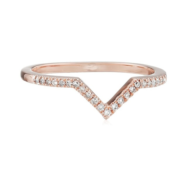 DIAMOND RING IN14KT GOLD - DIAMOND RINGS - RINGS