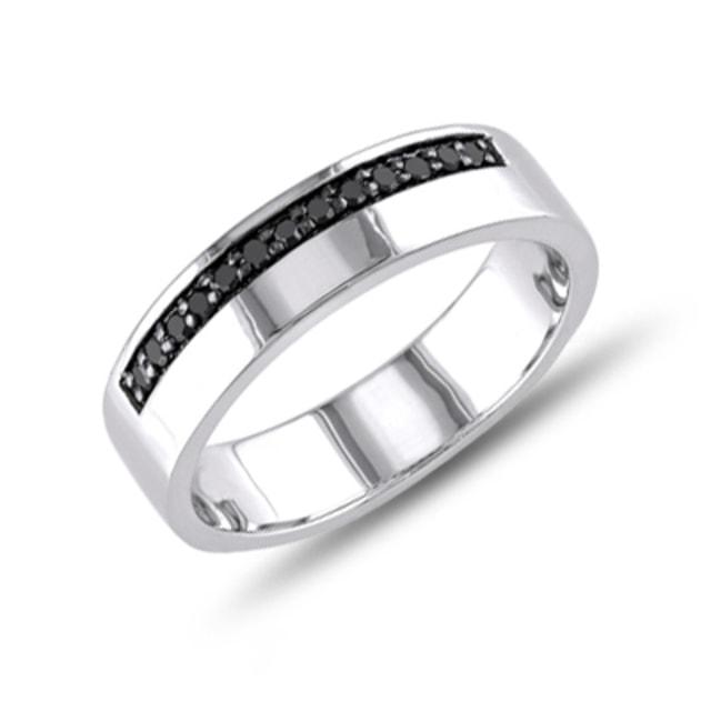 klenota bague pour homme argent et diamants bagues pour hommes klenota bijoux avec amour. Black Bedroom Furniture Sets. Home Design Ideas