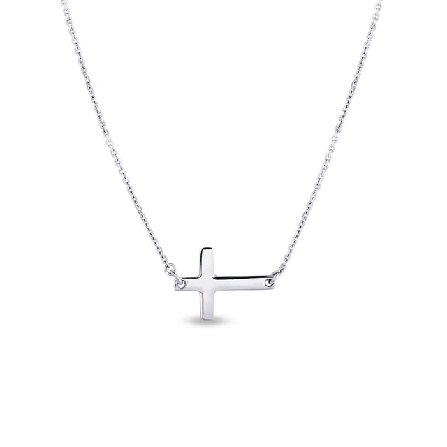 SILVER CROSS PENDANT - CROSS PENDANTS - PENDANTS